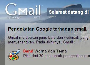 Tampilan Awal Baru Gmail