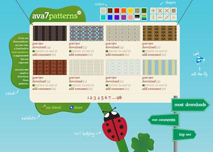 Ava 7 Patterns Website
